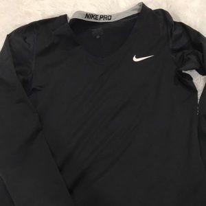 Nike pro long sleeve top